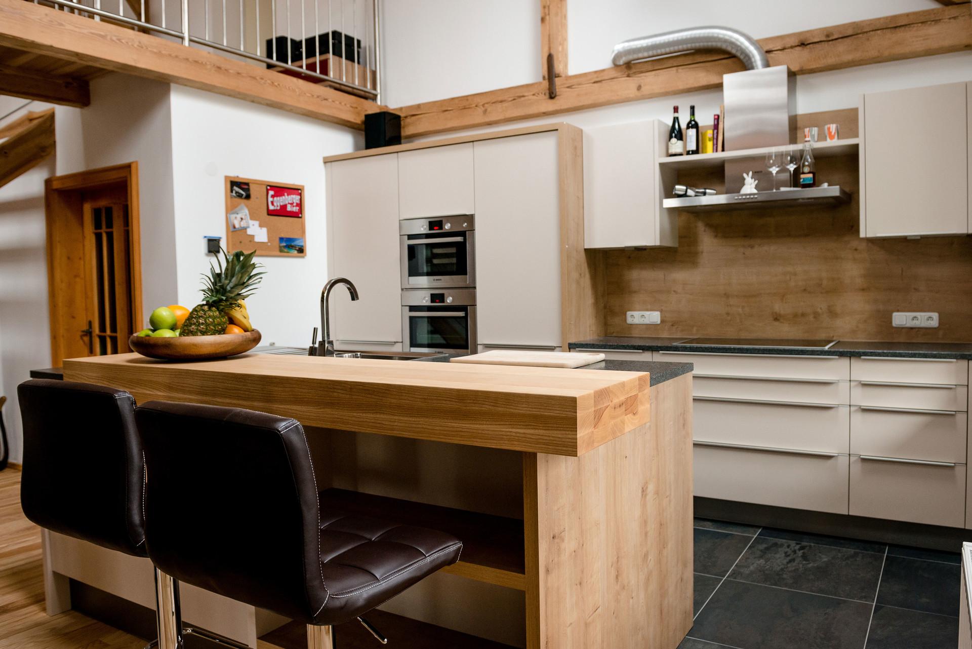 referenz ewe k che k chenbeispiel wohnstudio n bauer. Black Bedroom Furniture Sets. Home Design Ideas