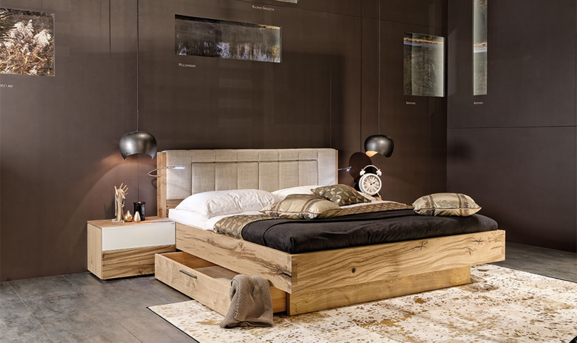 emejing schlafzimmer aus zirbenholz images ridgewayng. Black Bedroom Furniture Sets. Home Design Ideas