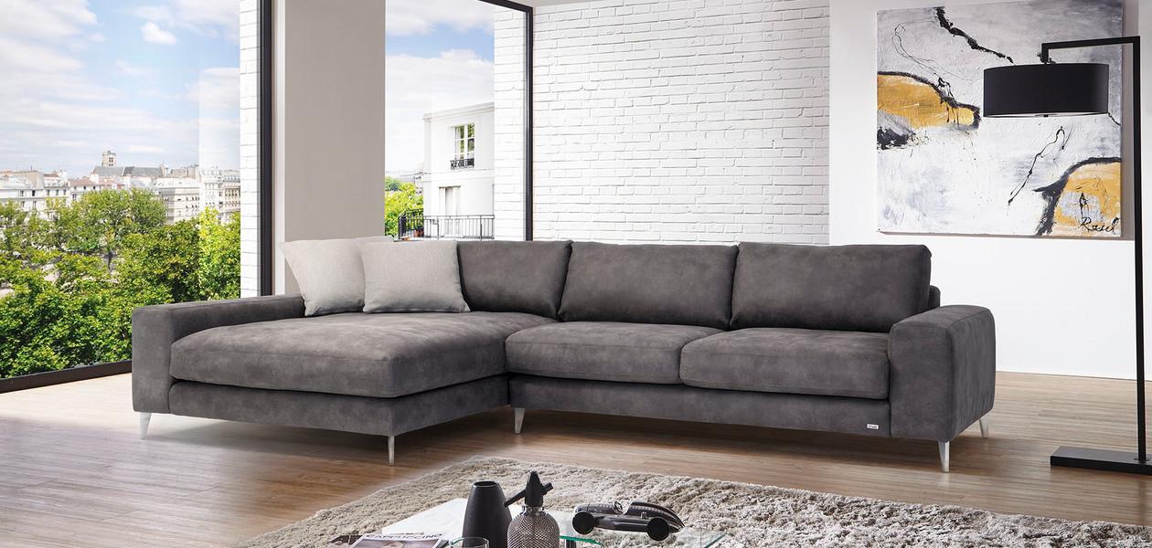 polstermöbel fürs wohnzimmer: couch und mehr von nöbauer - Wohnzimmercouch